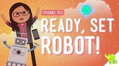 The Robot Challenge: Crash Course Kids #47.1