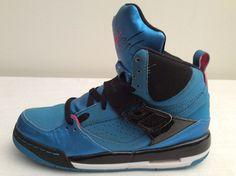 Nike AIR JORDAN FLIGHT 45 High Hi Top Youth Basketball Shoes Sz 6.5Y 547769-406 #Nike #BasketballShoes