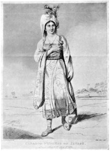 Mary Baker (née Willcocks) (1791 – 24 December 1864) was a noted impostor who went by the name Princess Caraboo. She pretended to be from a far away island and fooled a British town for some months.