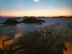 Sunset,Yeosu  이뽀다 #여수 #yeosu