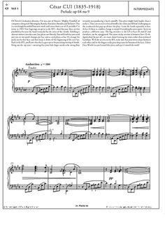 Prelude Op.64 No.9 >>> KLICK auf die Noten um Reinzuhören <<<