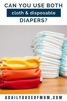 Are you starting your cloth diapering journey? Do you think cloth diapers have to be all-or-nothing? Read this post to find out! Used Cloth Diapers, Disposable Diapers, All Or Nothing, How To Find Out, Clothes, Outfits, Clothing, Kleding, Outfit Posts