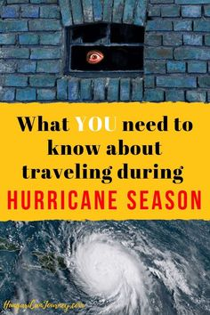 With the peak of hurricane season around the corner, how you can stay safe and sane during a hurricane? You need proper information and plan B when you travel to hurricane-prone areas. Rv Travel, Budget Travel, Hurricane Preparedness, Natural Disasters, Survival Tips, Stay Safe, Traveling Tips, Places To Go, Road Trip