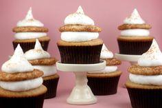 snickerdoodle cupcakes from bakerella