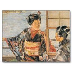 Dance 妓 post cards