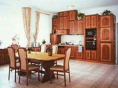 Étkező és konyha - egyedi bútor klasszikus stílusban, természetes színekkel #konyha #bútor #furniture #konyhabútor #kitchen Kitchen Cabinets, Table, Furniture, Home Decor, Decoration Home, Room Decor, Kitchen Base Cabinets, Tables, Home Furnishings