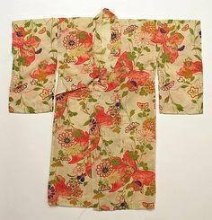 Kimono  Date: 20th century Culture: Japanese Medium: cotton
