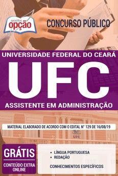 Apostila Concurso Universidade Federal Do Ceara Ufc 2020