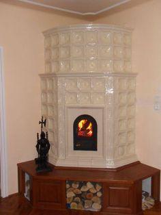 cserépkályha Török F Home Decor Inspiration, Tea Party, Home Improvement, Rustic, Stoves, Living Room, Wood, Kitchens, Decorating