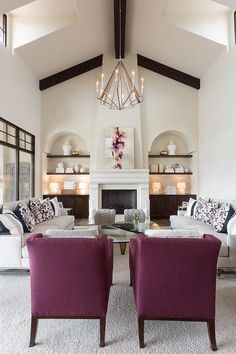 Transitional Living Rooms - Adrian Home Transitional Living Rooms, Transitional House, Transitional Lighting, Transitional Bathroom, Living Room Sets, Living Room Designs, French Country Living Room, Family Room Design, Living Room Remodel
