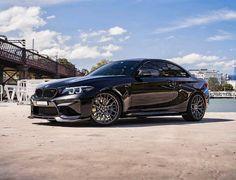 BMW F87 M2 black Vorsteiner wheels