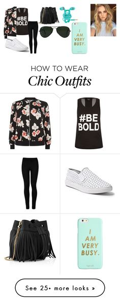 """""""be bold"""" by lilyhasyim-824 on Polyvore featuring City Chic, New Look, Wolford, Steve Madden, Whistles, Ray-Ban, ban.do and bebold"""