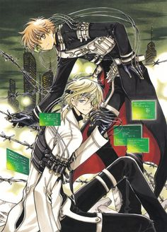 Syaoran Li (李小狼) & Fai D. Flourite (ファイ・D・フローライト) | Tsubasa: RESERVoir CHRoNiCLE (ツバサ -RESERVoir CHRoNiCLE-), TCR, Tsubasa | CLAMP
