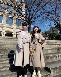 Couple Style, Sweet Couple, Couple Goals, Korean Fashion Men, Mens Fashion, Fashion Outfits, Matching Couples, Cute Couples, Korean Friends