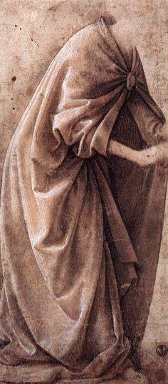 Domenico Ghirlandaio ~ Study of Garments, 1491