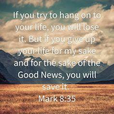 Mark 8:35