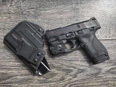 M&P Shield 9/40 w/Streamlight TLR-6 IWB/AIWB Kydex Holster - Profile Holster