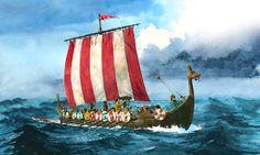 Viking ship Intruders