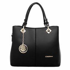 Spring Handbag New Fashion PU Leather Women Big Shoulder Bags Zipper Soft  Ladies Bag High Quality Bolsas Femininas Neverfull-in Shoulder Bags from  Luggage ... d9b4d2d6e1c28