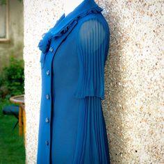 Iris Dinu - Look at the Cut, style, stylist, fashion, blue, royal blue