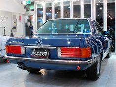 M-Benz S class 450SLC(C107) maintenance by YANASE, 2 owner, kept in garage | Classic Cars Dealer Garage Current Co., LTD.