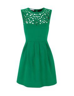 emerald dress.
