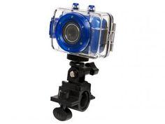 Câmera Filmadora Esportiva HD 720p Vivitar - DVR785HD 5MP Mini USB com Caixa Estanque