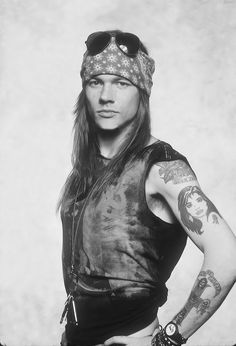 Axl was my first metal love
