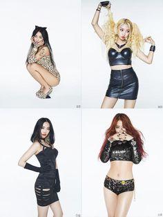 SISTAR 3rd Mini Album Shake It Bora Hyorin Dasom Soyou