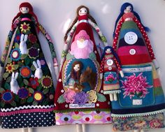 """Unusual dolls called """"Plushies."""" http://marjan.yourfreedomproject.com"""