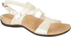 VIONIC  Paros, Sandales Plateforme femme - blanc - White, 41 - Chaussures vionic (*Partner-Link)