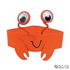 Crab Headband Craft Kit