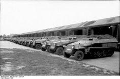 Brand new SdKfz 251/1 ausf. C's.