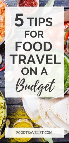 Learn how to taste everything you want to when you're traveling even if you're on a budget. Learn 5 quick tips that will save you money and still keep your belly full. #budgettravel #travel