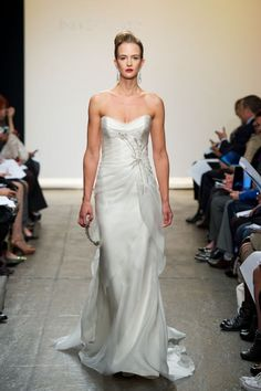A Real Black Tie Wedding Dress!  25 Exquisite Wedding Dresses by Ines di Santo, Spring 2013 | OneWed