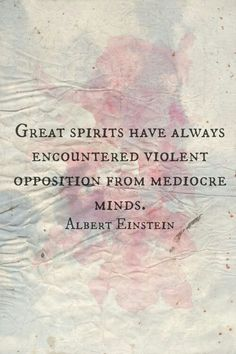 Great spirits - Albert Einstein