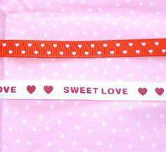 9mm Valentine Love Theme Grosgrain Ribbon Yard #craft