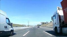 Video Reise mit dem Auto - video footage doku - Dashcam aus Germany - Au...