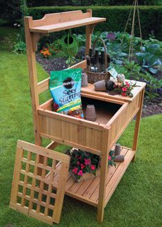 How To Build A Workbench Gardenbench Diy Mother Earth