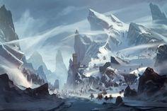 Snow, Yin Wang on ArtStation at https://www.artstation.com/artwork/snow-8a600d74-1998-416d-adeb-cf5e4af3fbe8