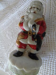 Hey, I found this really awesome Etsy listing at https://www.etsy.com/listing/246014528/french-vintage-pere-noel-ceramic