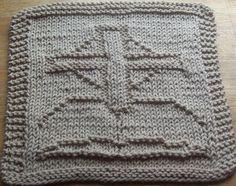DigKnitty Designs: Cross and Bible Knit Dishcloth Pattern