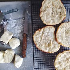 Flat Bread  (aip & paleo style) made with Otto's Naturals Cassava Flour  | She Flew the Coop