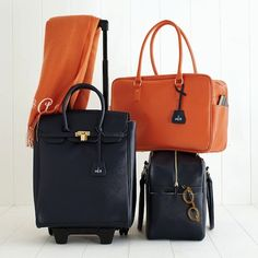 10 Packing Tips From a Professional Organizer Pinning because I love that orange bag <3