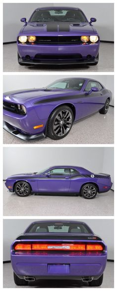 Plum crazy! 2014 Dodge Challenger SRT8 #WildWednesday