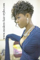 20 Short Curly Hairstyles for Black Women | Hairstyles | Pinterest ...