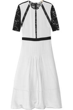 CLEMENTS RIBEIRO  Kaitia pleated silk dress