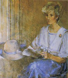 emily patrick portrait of Diana,1986