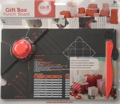 We R Memory Keepers Gift Box Punch Board: Amazon.de: Küche & Haushalt
