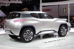 Концепт с нулевым выбросом Nissan Terra